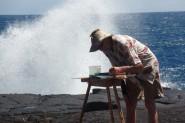 hawaii watercoloring